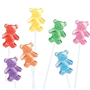 Teddy Bear Twinkle Pops - 24PK