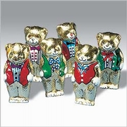 Milk Chocolate Teddy Bears - 36PK Counter Display