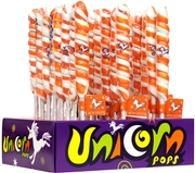 Orange & White Unicorn Pops
