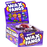 Wack-O-Wax Fangs Candy - 24CT Box
