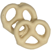 White Chocolate Covered Pretzels - 10CT Box