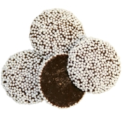 Chocolate White Nonpareils