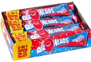 AirHeads Big Taffy Bar - Blue Raspberry & Cherry (24CT Case)