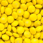 Yellow M&M's Chocolate Candies