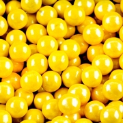 Yellow Shimmer Pearl Sixlets
