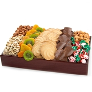 Holiday Wood Letter Tray