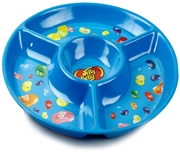 Jelly Belly Blue Melamine Chip & Dip Tray