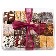 12 Variety Chocolate Biscotti Gift Box - 24CT