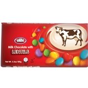 Passover Elite Milk Chocolate Bar with Lentils - 12PK
