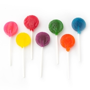Assorted Rainbow Lollipops