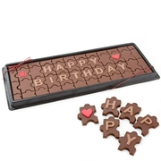 Chocolate Puzzle Gift Box - Happy Birthday