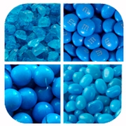 Blue Themed Candy & Chocolate