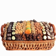 Israel Chocolate, Dried Fruit & Nut Basket