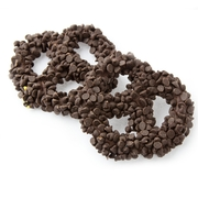 Chocolate Covered Pretzels with Chocolate Chips - 10CT Box