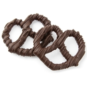 Chocolate Covered Pretzels with Chocolate Drizzle - 10CT Box
