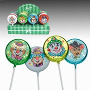 Milk Chocolate Clown Pops - 40PK