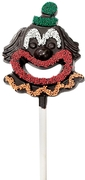 Jolly Clown Belgian Dark Chocolate Pop - 3-Pack