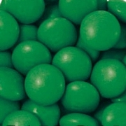Dark Green M&M's Chocolate Candy