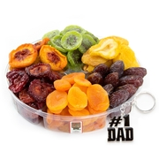 Fathers Day Dried Fruit 6-Section Platter