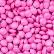 Hot Pink Chocolate Lentils Gems