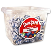 Blueberry Dum Dum Pops - 1 LB Tub