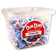 Cotton Candy Dum Dum Pops - 1 LB Tub