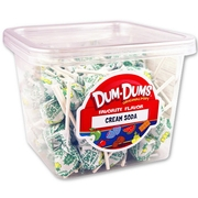 Cream Soda Dum Dum Pops - 120CT Case