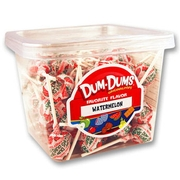 Watermelon Dum Dum Pops - 1 LB Tub