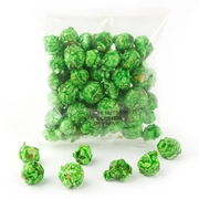 Green Candy Coated Popcorn Snack Pack - 12 Pack