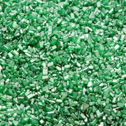 Emerald Green Sparkling Coarse Sugar Crystals - 11 oz Jar