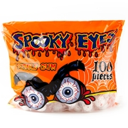 Spooky Eyes Gumballs - 100ct Bag