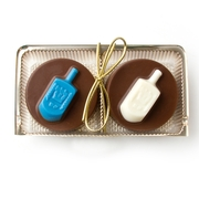 Hanukkah Decorative Chocolate Cookies