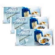 Hanukkah Large Chocolate Bars