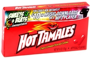 Hot Tamales Cinnamon Jelly Candy - 24CT Box