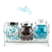 Old Fashioned Jars - Blue Baby Boy