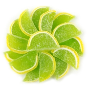 Lemon Lime Jelly Fruit Slices