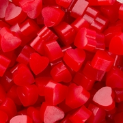 Twizzlers Heart Shaped Cherry Licorice Nibs