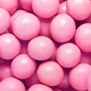 Light Pink Milk Chocolate Malt Balls
