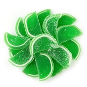 Lime Jelly Fruit Slices