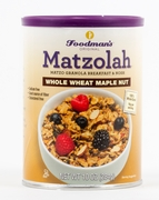 Passover Matzolah Whole Wheat Maple Nut Granola