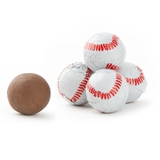 Milk Chocolate Sport Baseballs
