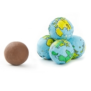 Milk Chocolate Globe Balls