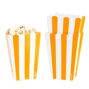 Orange Popcorn Box - 5CT
