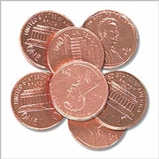 Milk Chocolate Copper Pennies