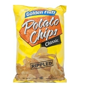 Large Rippled Potato Chips - 12CT (12oz)