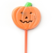Pumpkin Face Chocolate Lollipop