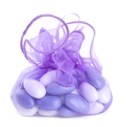 Lavender Organza Bag - 12-Pack