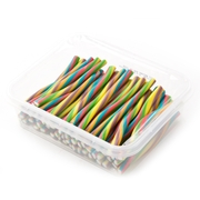Rainbow Gummy Sticks - 1LB Box