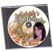 Bat Mitzvah Customized Chocolate CD