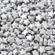 Silver Stars Pressed Candy